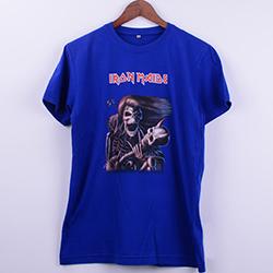 Kişiye Özel Iron Maiden Baskılı Erkek Tişörtü