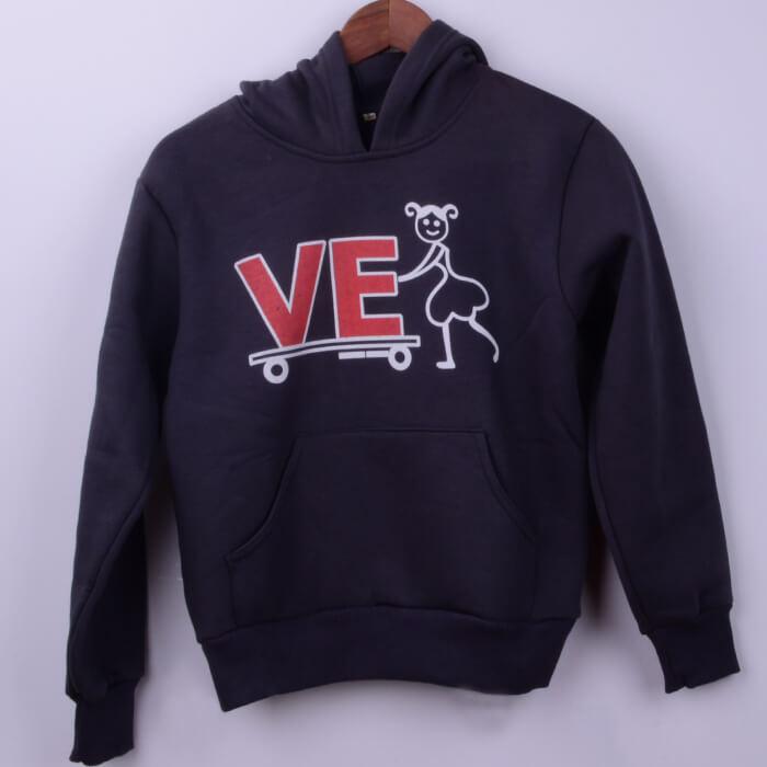 Outlet Kışlık Kapşonlu Sweatshirt