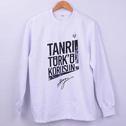 Kişiye Özel Tanrı Türkü Korusun Sweatshirt