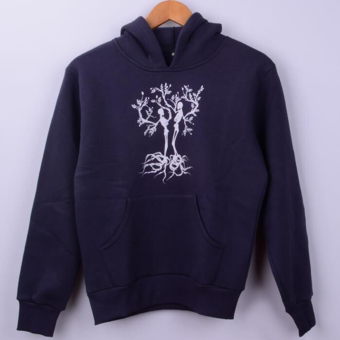 Ağaç Baskılı Kadın Sweatshirt