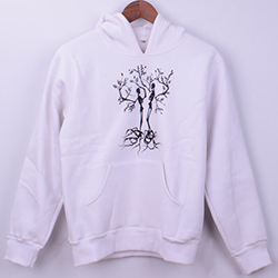 Kişiye Özel Ağaç Tasarımlı Kadın Sweatshirt