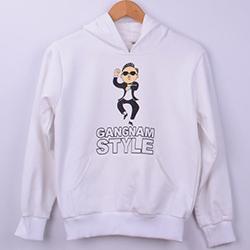 Kişiye Özel Gangnam Style Kapşonlu Sweatshirt
