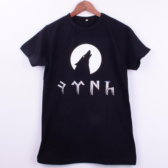Türk Baskılı Siyah Outlet Erkek Tişört