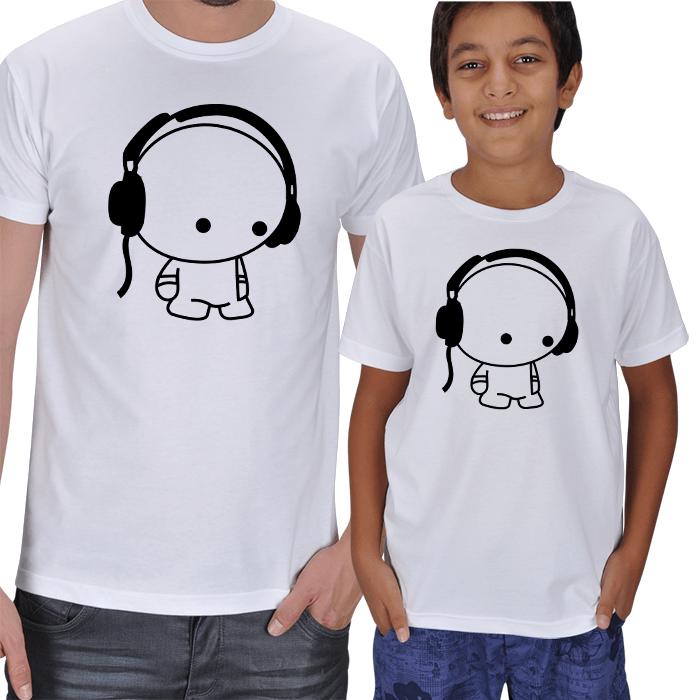 Baba Erkek Çocuk Tişört Setleri