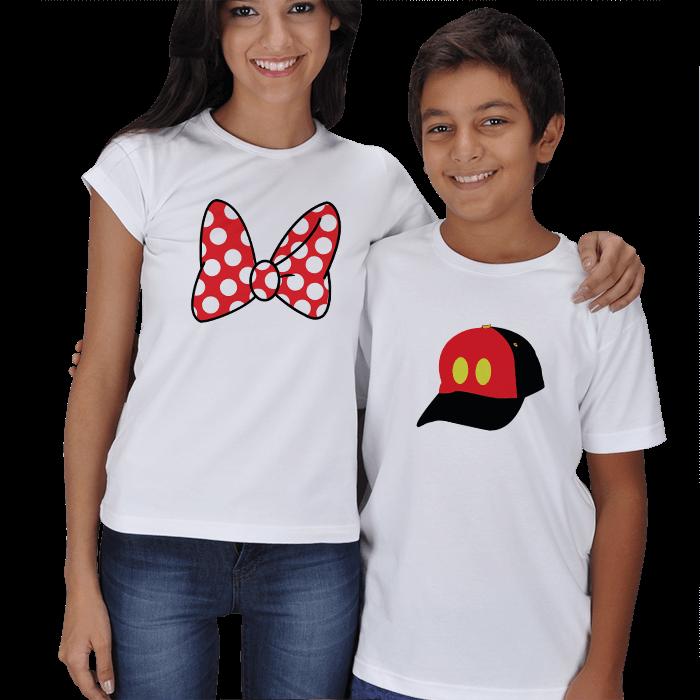 Şirin Anne Çocuk Kombin Tişörtleri