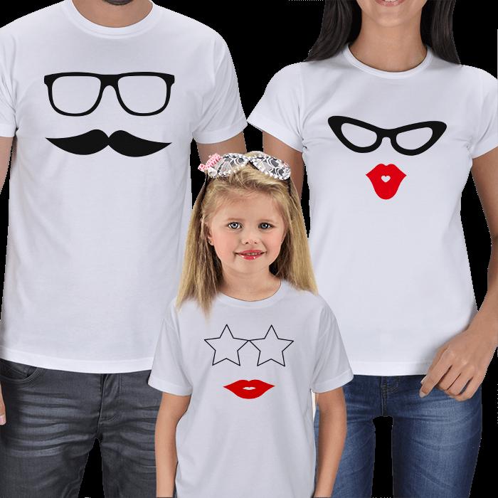 Eğlenceli Aile Tişört Tasarımları