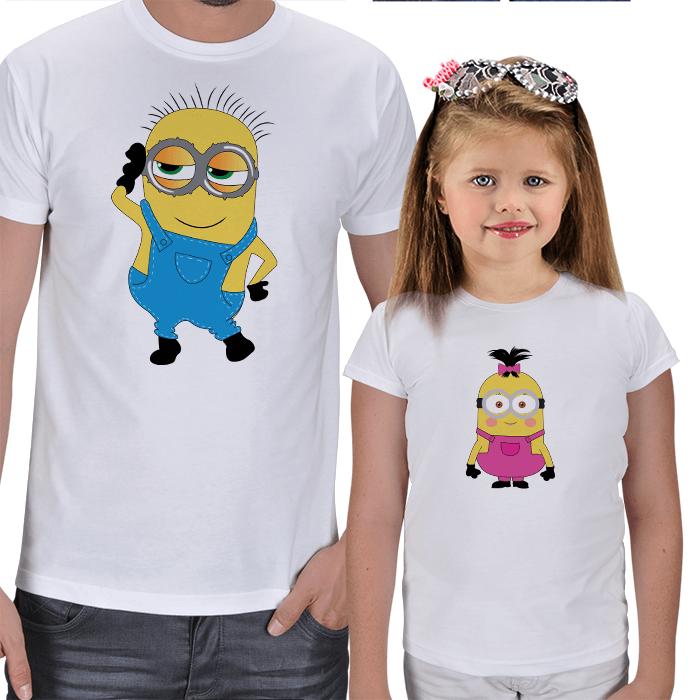 Minyon Baba ve Kız Çocuk Tişörtleri