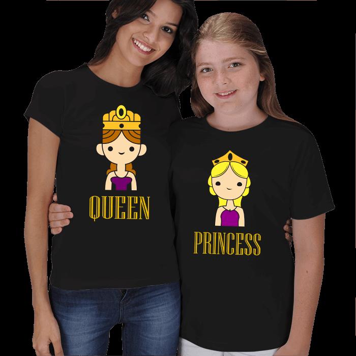 Kraliçe ve Prenses Anne Çocuk Tişörtleri