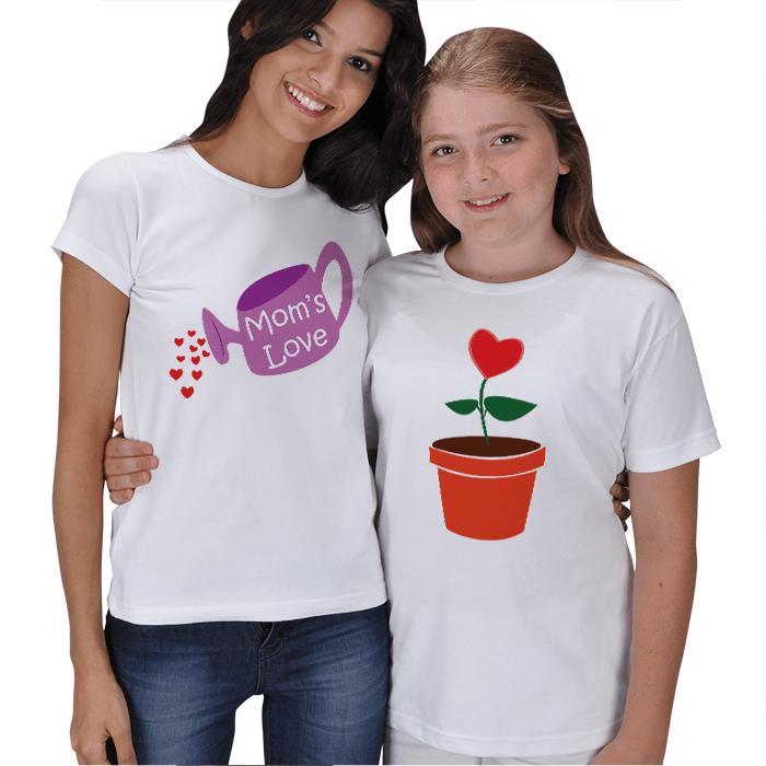 Anne Sevgisi Anne Kız Tişört
