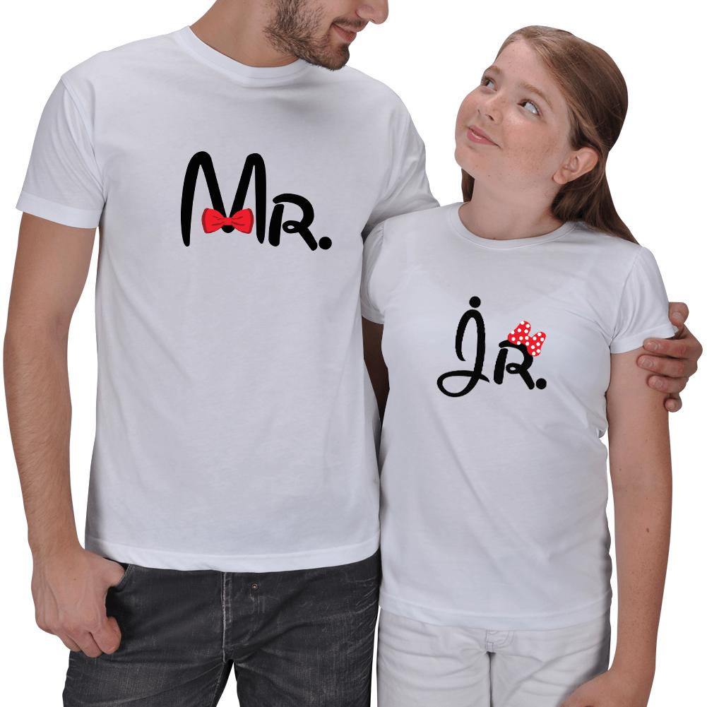 Mr. and Jr. 2li Baba - Kız Çocuk T-shirtleri
