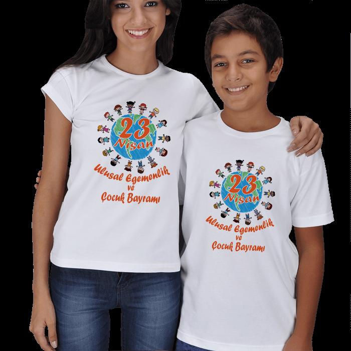 23 Nisan Anne Çocuk Tişörtleri