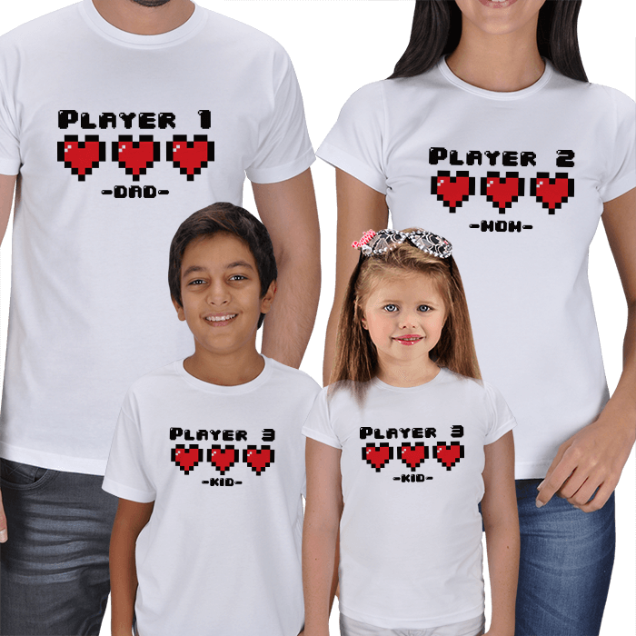 Which Player? Family T-shirts