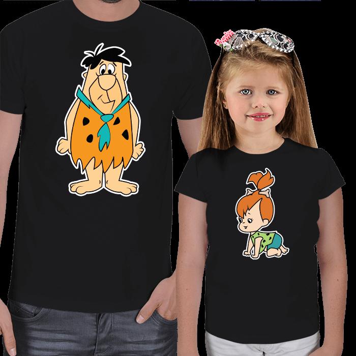 Çakmaktaş Ailesi Baba Kız Tişörtleri