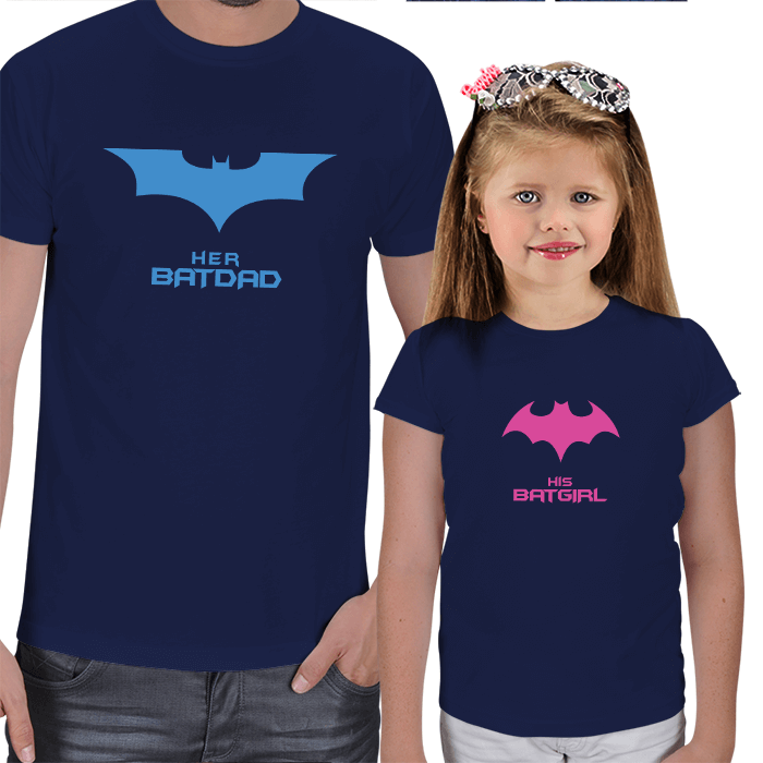 Batdad - Batgirl Tişört Kombini