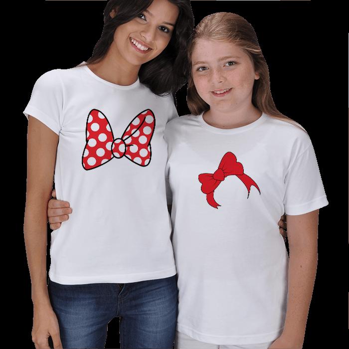 Şirin Anne-Kız Kombin Tişörtleri