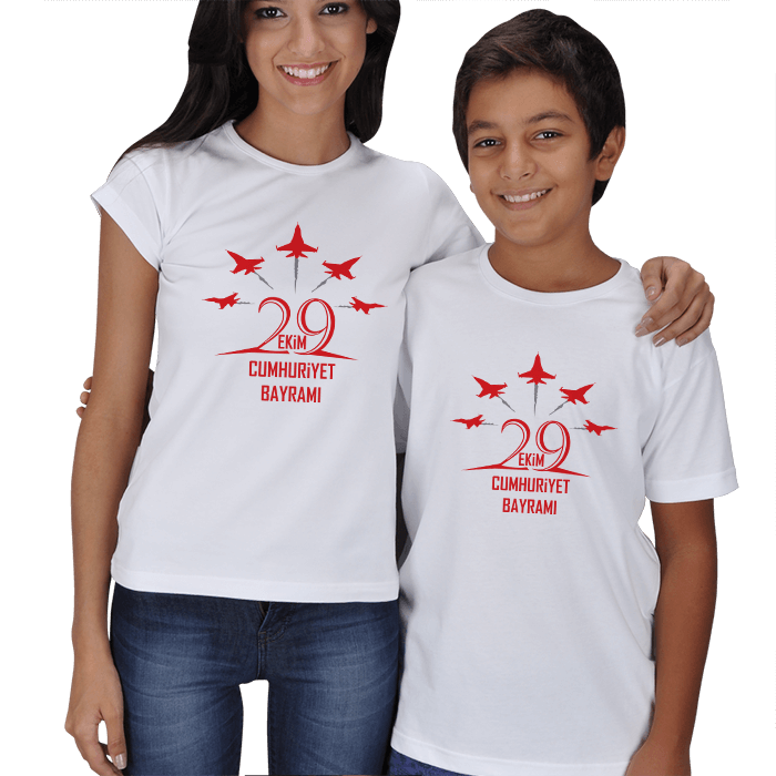 29 Ekim Anne Çocuk Tişörtleri