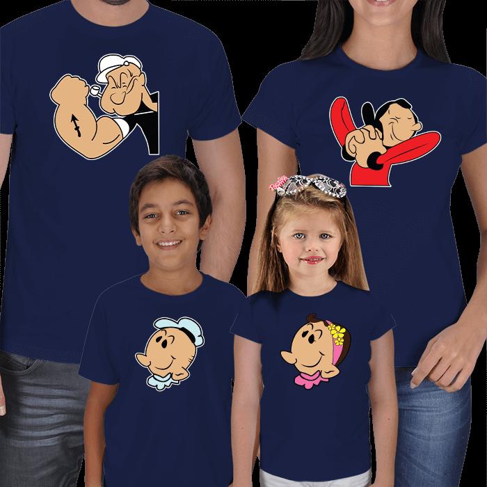 Temel Reis 4lü Aile Tişörtleri