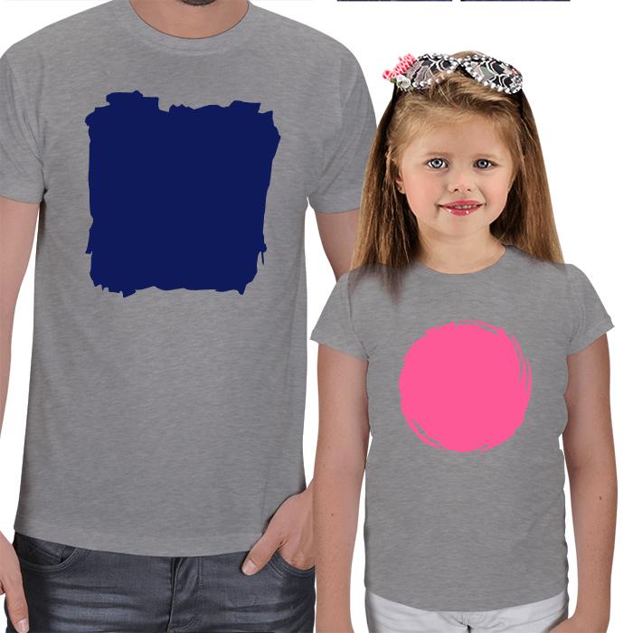 Baba Kız Kombinli Tişörtler