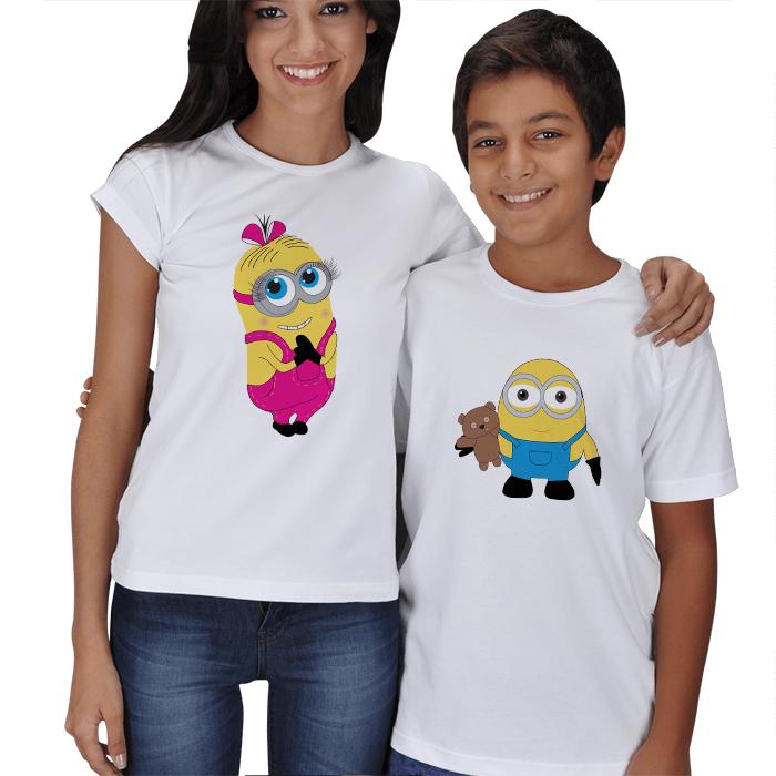 Minyon Anne ve Minyon Çocuk Tişörtleri