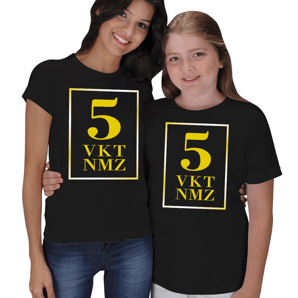 5 Vakit Namaz Anne Kız Tişörtü
