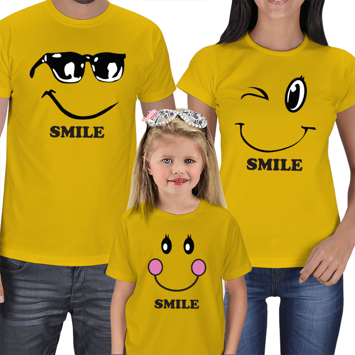 Smile Family T-shirts