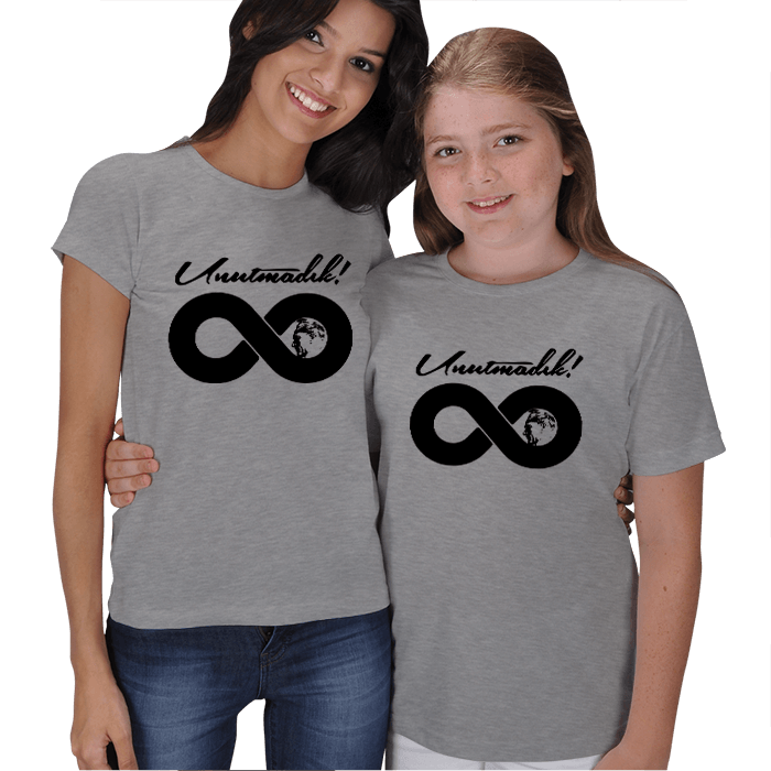 Kişiye Özel Unutmadık Atam Anne Çocuk Tişörtleri