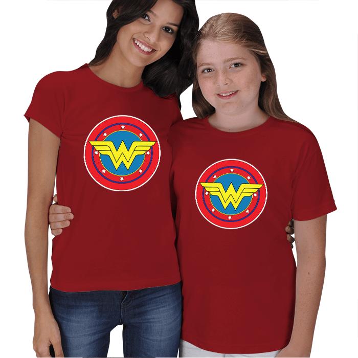 Wonderwoman Anne Kız Tişörtleri