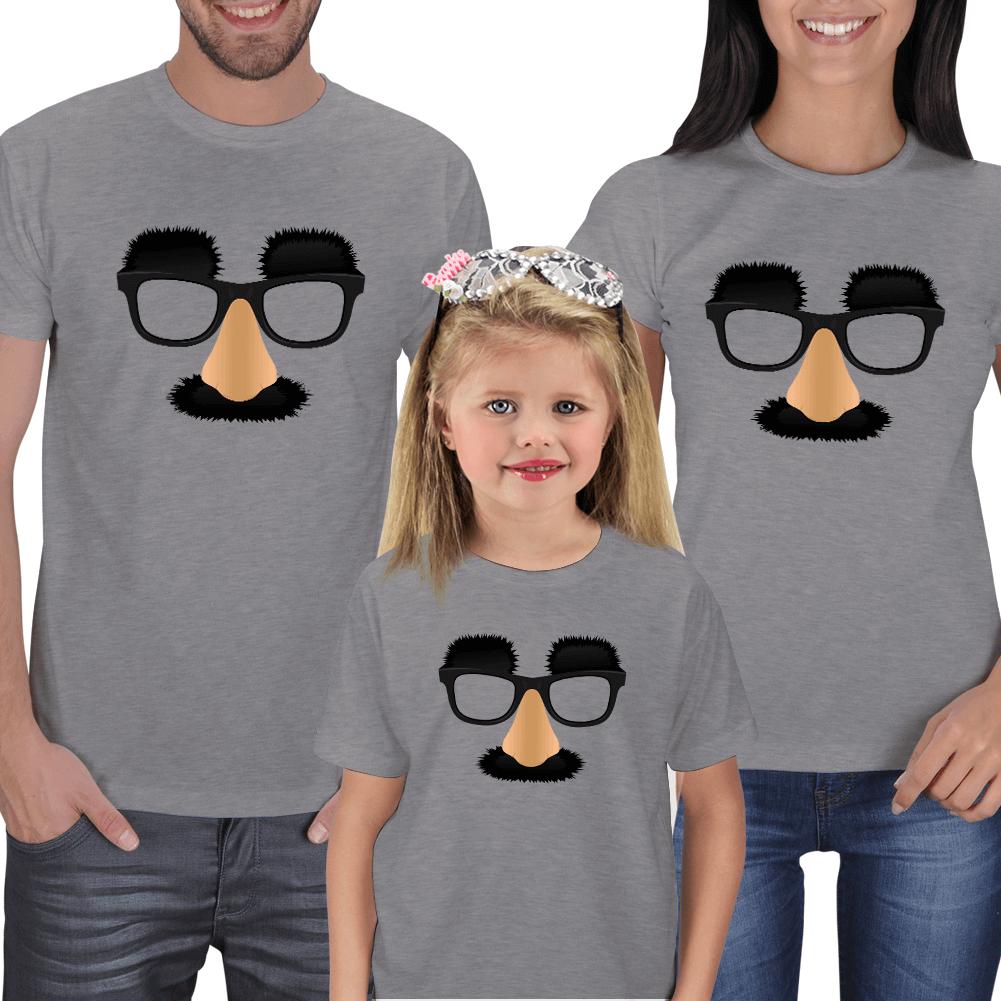 Komik Surat Anne Baba Çocuk Tişörtleri