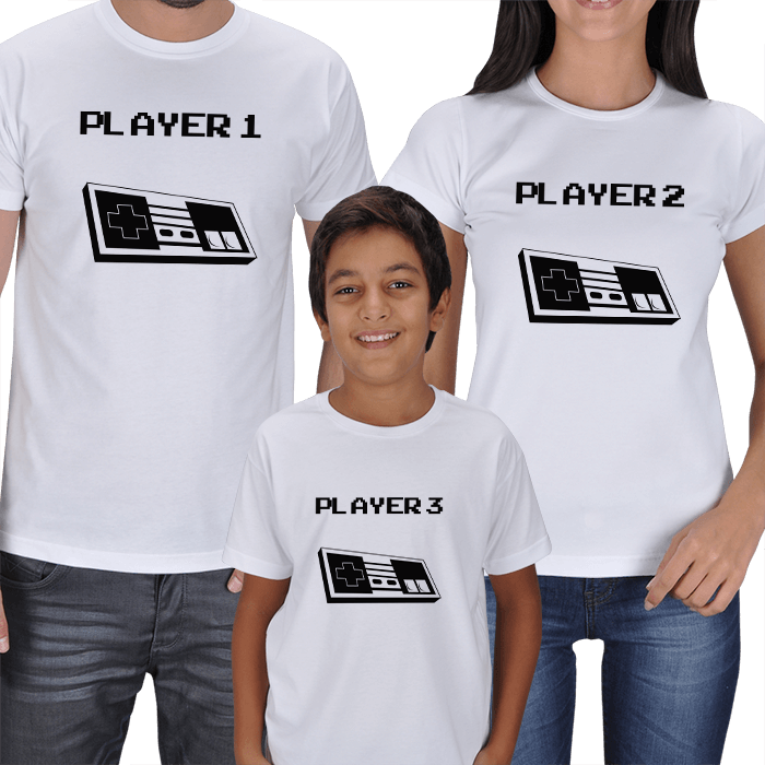 Game Player - Family T-shirts