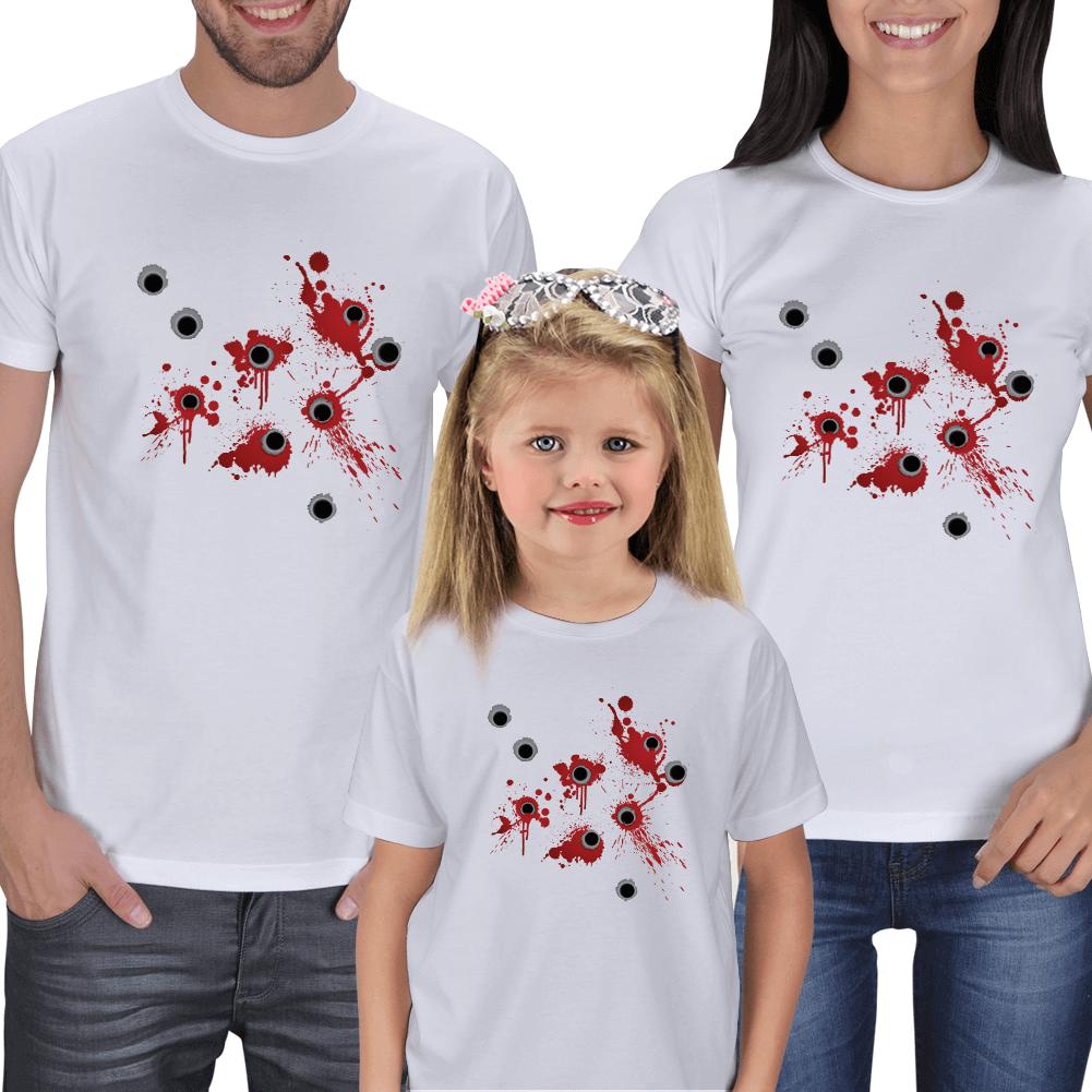 Kurşun Mizah Anne Baba Çocuk Tişörtü