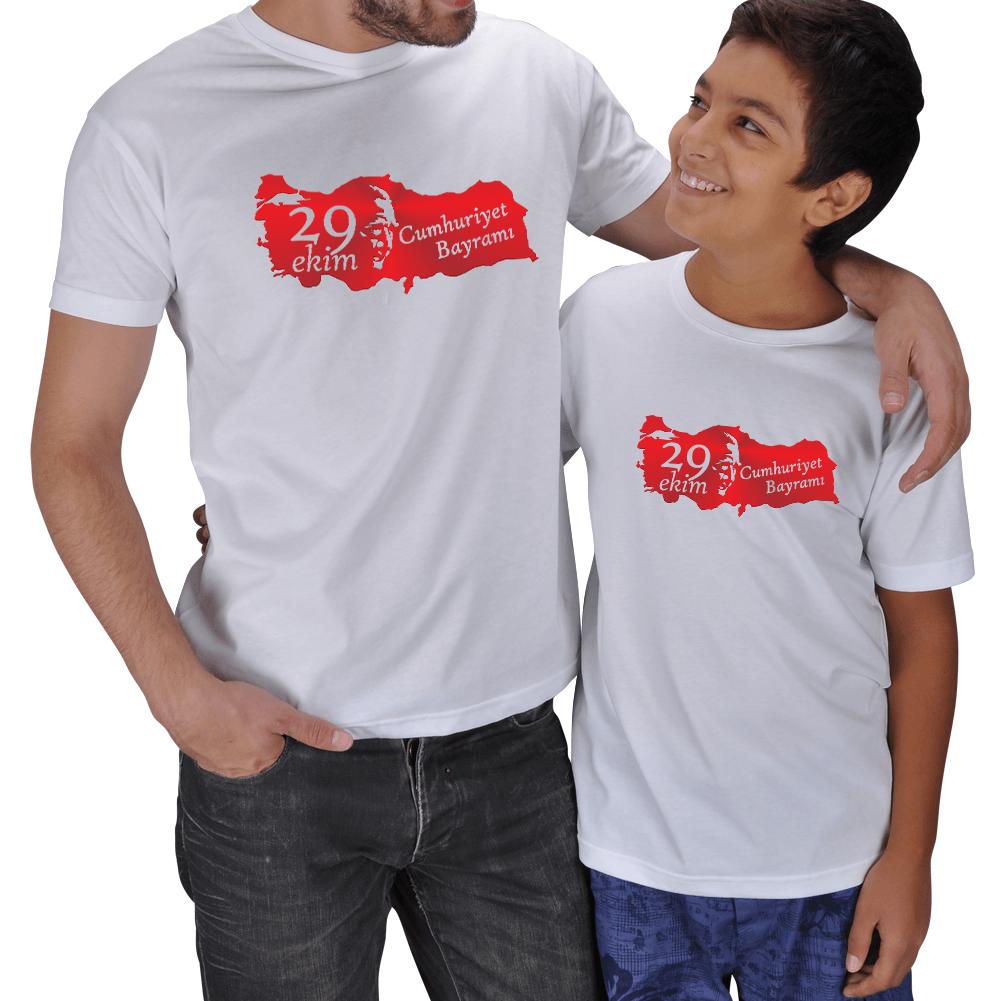 29 Ekim Baba Erkek Çocuk Tişörtleri