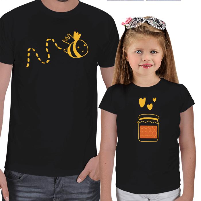 Arım Balım Baba Kız Tişört Kombini