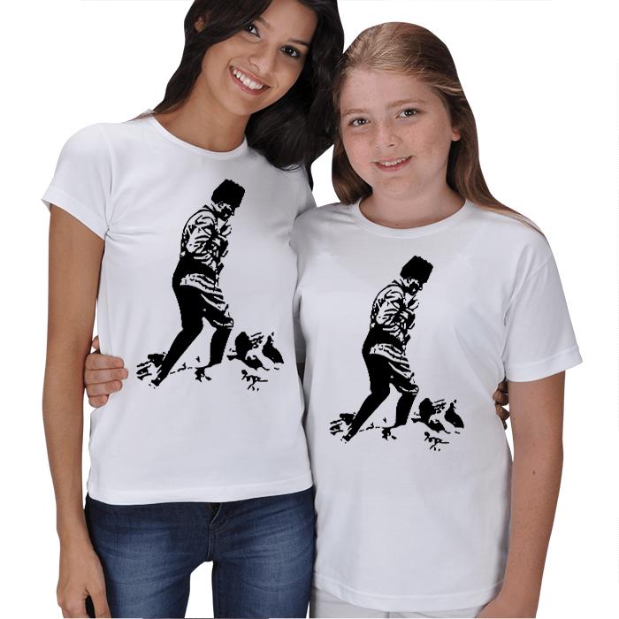 Atatürk Anne Kız Tişörtü
