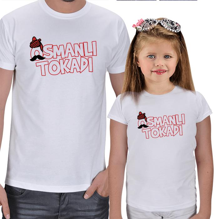 Osmanlı Tokadı Baba Kız Tişörtler