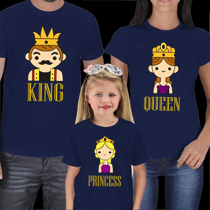 Kraliyet Ailesi 3lü Tişört Kombini