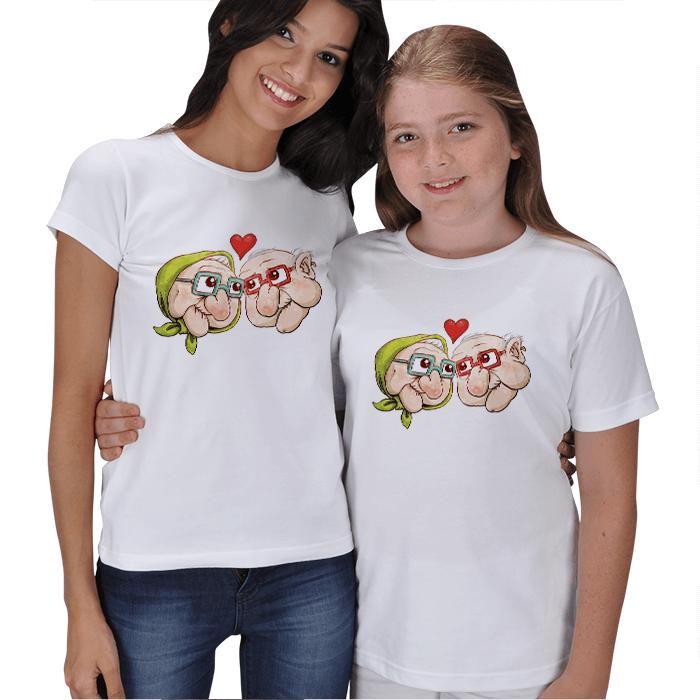 Nine Dede Anne Kız Tişörtü