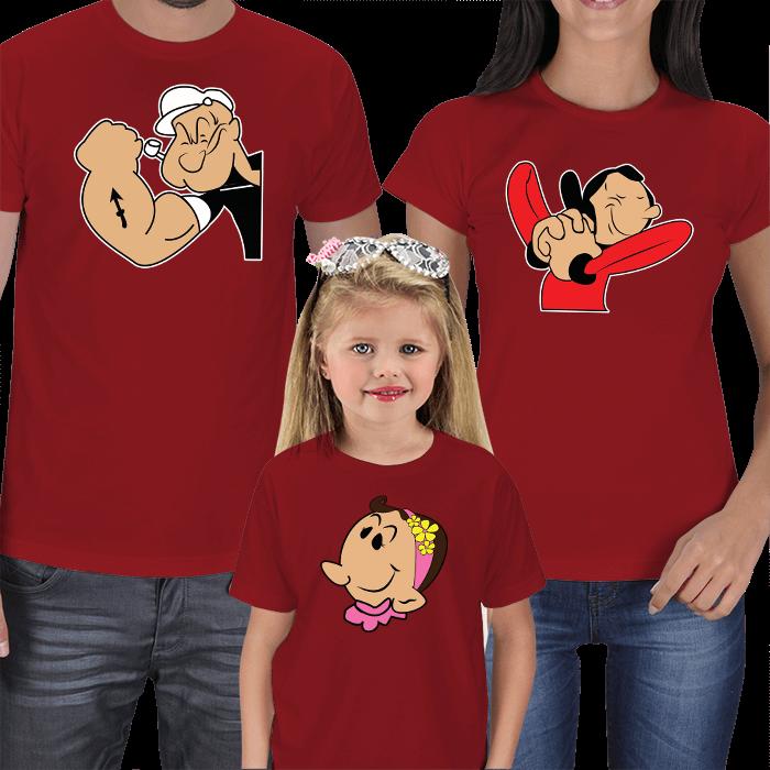 Temel Reis 3lü Aile Tişörtleri