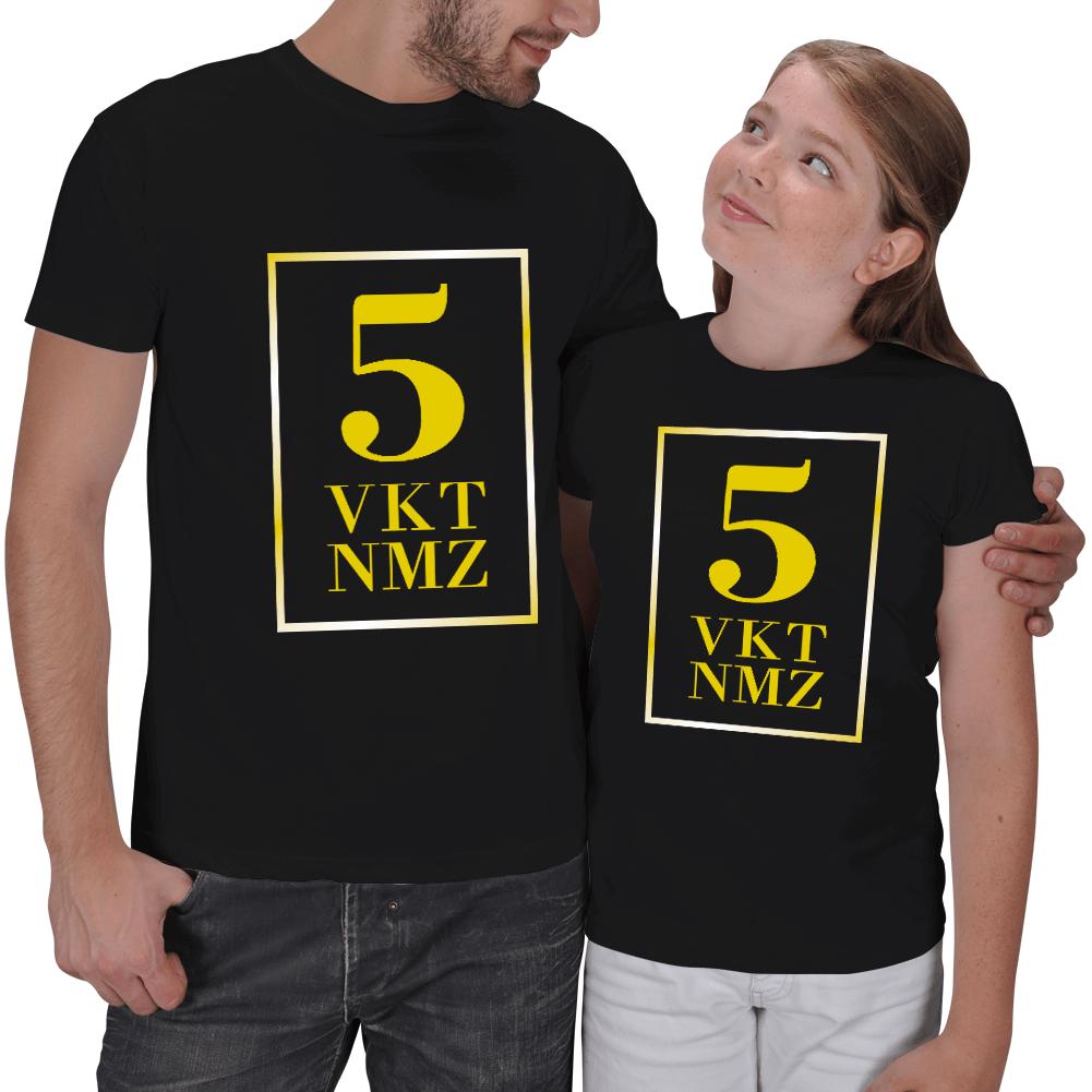 5 VKT NMZ Baba - Kız Tişörtleri