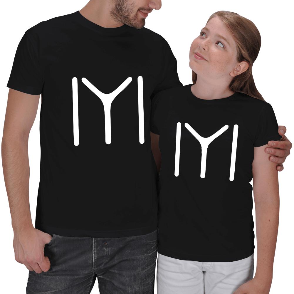Kayı Boyu Baba - Kız Çocuk Tişörtleri
