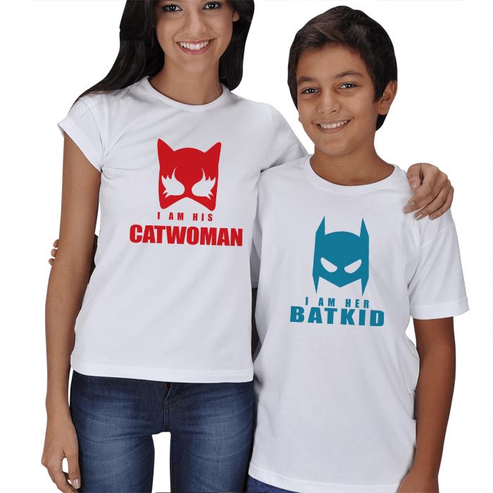 Catwoman Anne Çocuk Tişörtleri