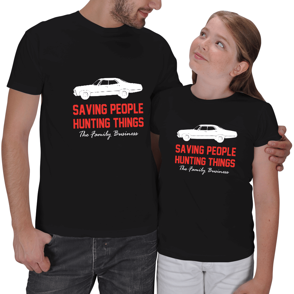 Family Businness Baba Kız T-shirt