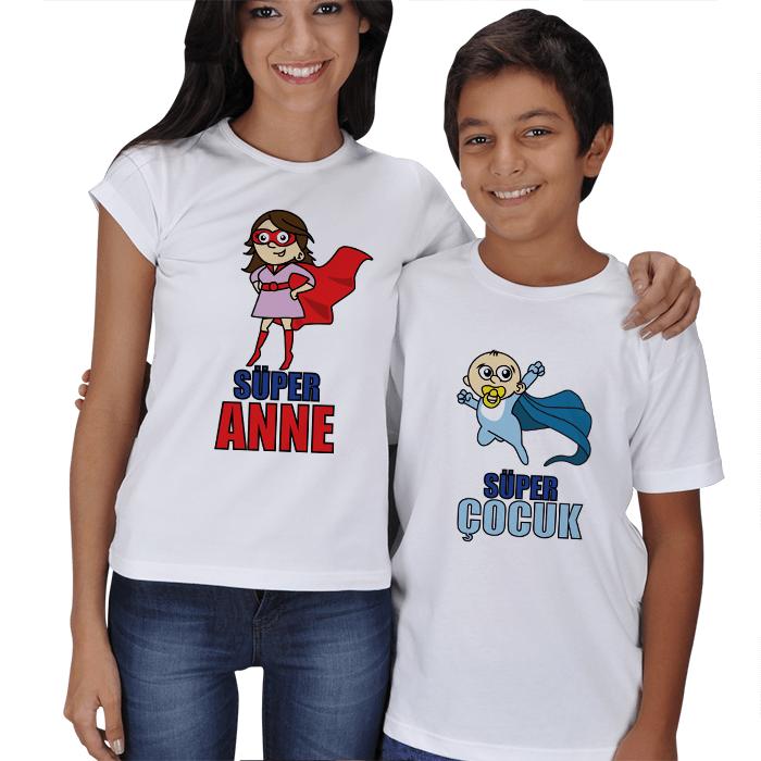 Süper Anne ve Süper Çocuk Kombin