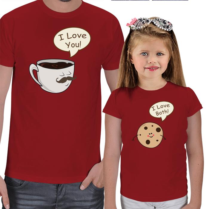 Babasının Kurabiyesi Baba-Kız Tişörtleri