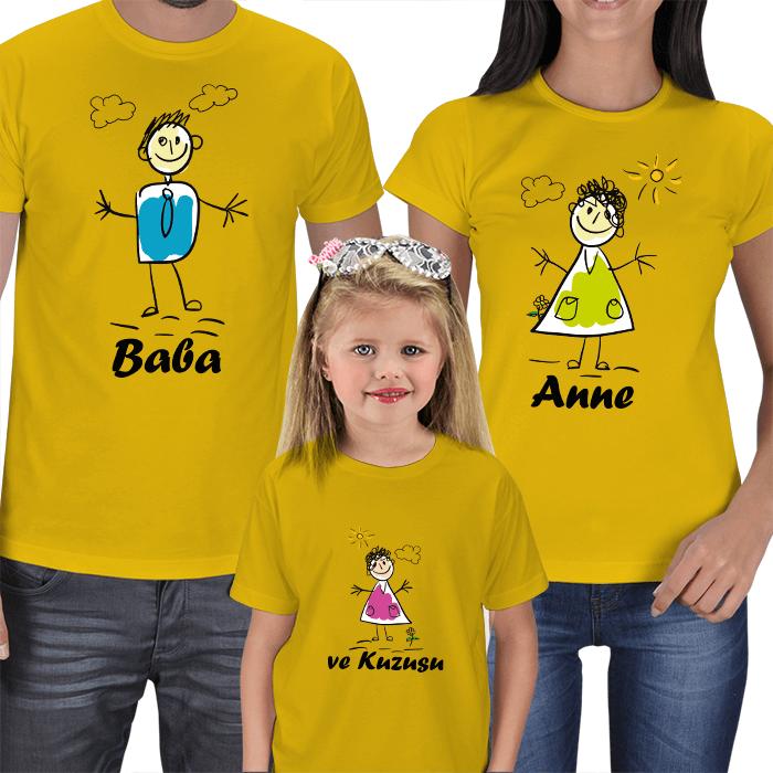 Anne ve Baba Kuzusu Tişörtleri