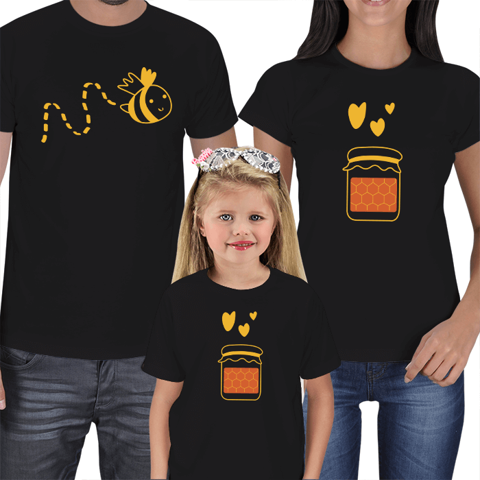 Arım Balım 3lü Aile Tişörtleri